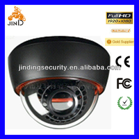 Dome HD IR IP Camera Sony CCD Night Vision Color IR Indoor Dome CCTV Camera ,Home Security Camera (JD3201-HD)