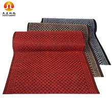 waterproof anti-slip polyester carpet protection mat roll hard plastic floor mat