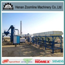 ZAP-C20 20T/HR Stationary Asphalt Drum Mix Plant with ISO9001 Certificate