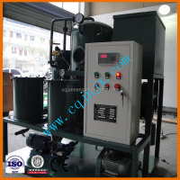 dewatering impurities removing waste lube oil vacuum system filtration machine