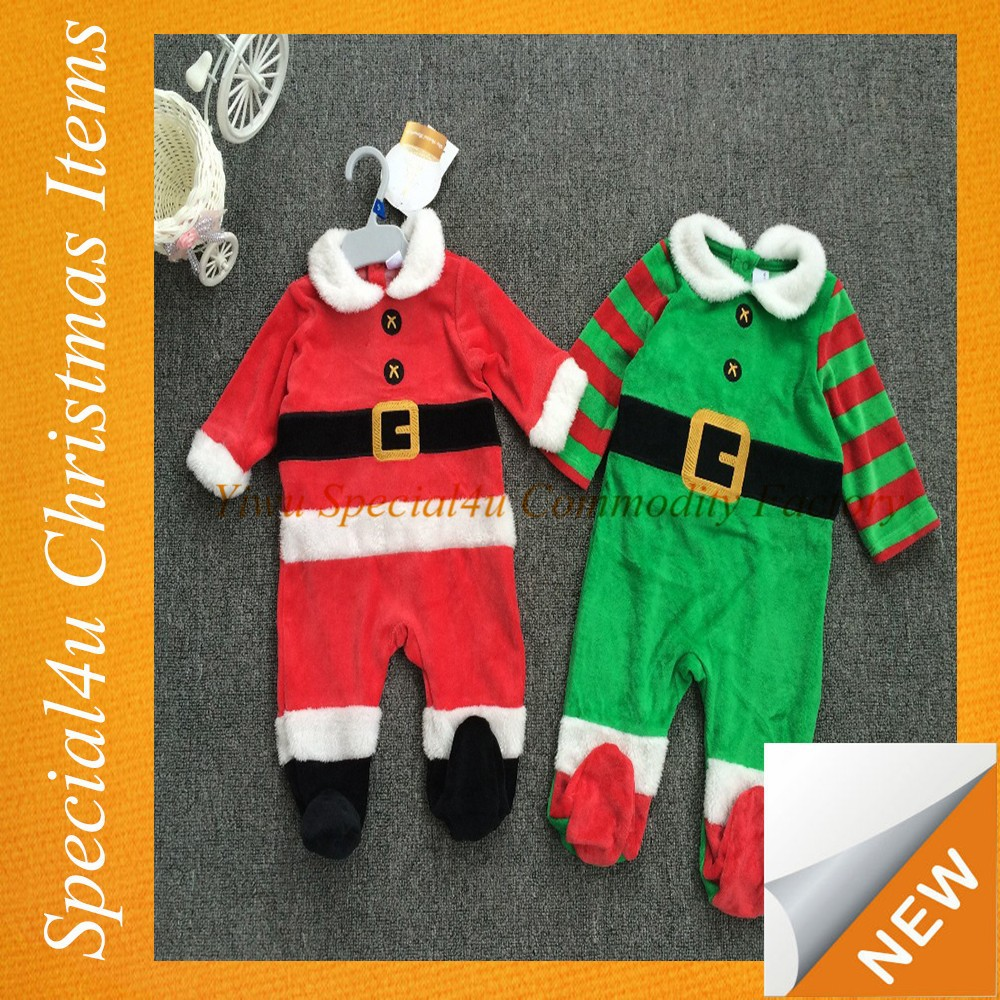 Baby Boy and Girl Christmas Costume Clothes clothing baby Santa Baby Suit SYCI-037