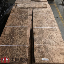 American walnut burl veneer from China dongguan wood manufacture
