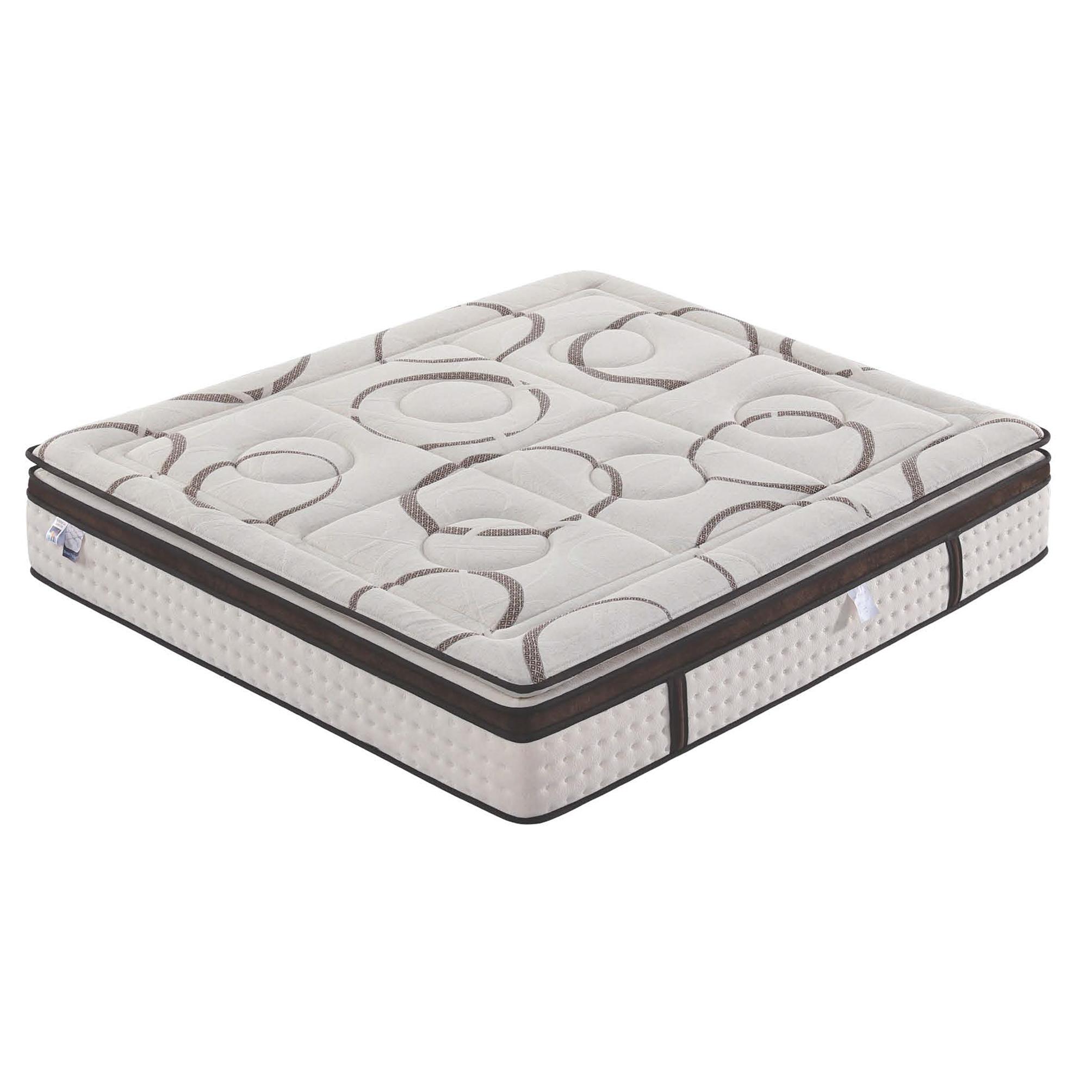Single Bed Micro Pocket Spring Pillow top & Euro top Mattress - Jozy Mattress   Jozy.net