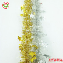 High Quality Christmas Tinsel Garland / Snowflake Die-cut Design