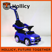 High quality and popular push&foot power car children tricycle for baby with handle bar directed by factory