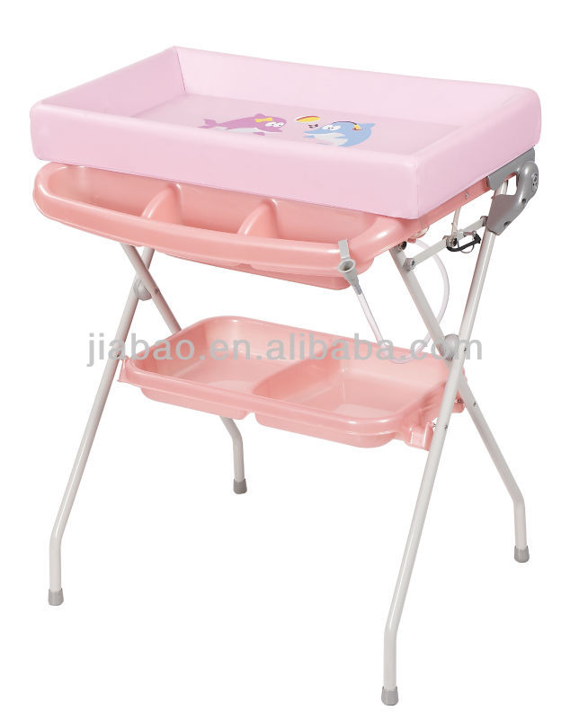baby bath station changer table folding baby bath(with EN12221)baby product