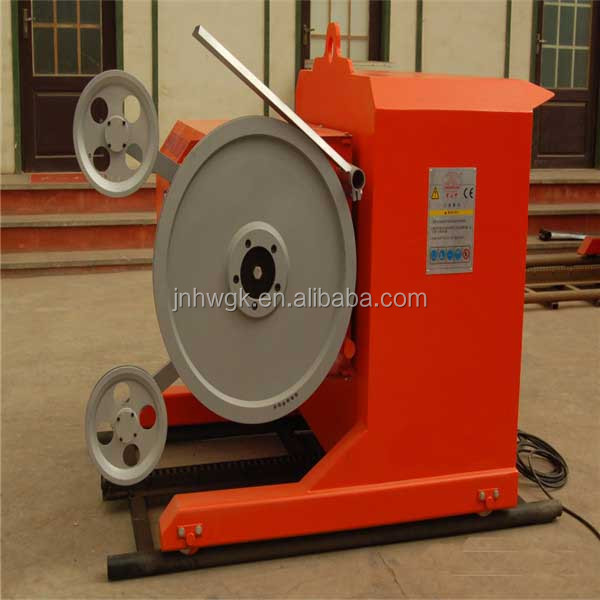 Direct Manufacturer 22-75KW Diamond Wire Saw Machine/Hard Rock Cutting Machine