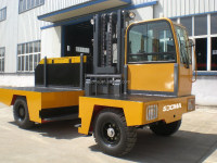 best price 8 ton side loader forklift truck,side lift forklift