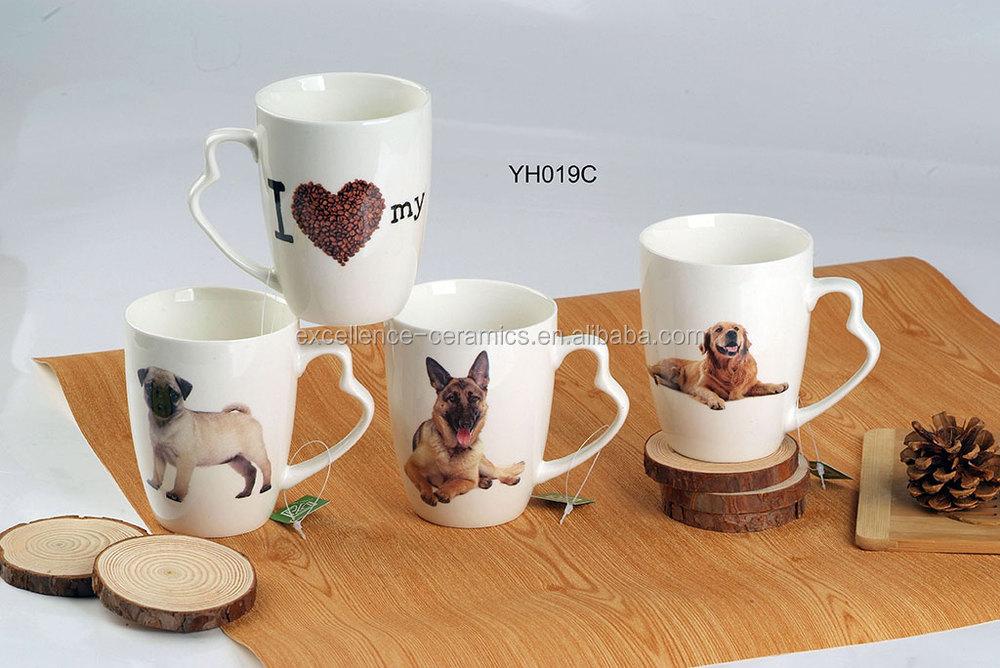 M051a4 White Cute Cat Kitten Ceramic Coffee Mug Buy