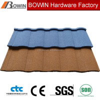 stone coated roofing tile supplier /hot sale metal roof tile /sand coated aluminum roof tile price