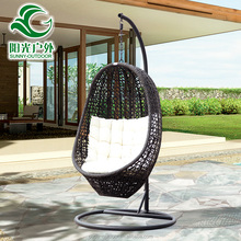 High quality outdoor garden cane swing chair for sale