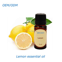 OEM wholesale high quality therapeutic grade skin care private label pure lemon essential oil