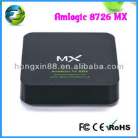 Amlogic 8726 mx cable tv black box, tv tuner box for lcd monitor