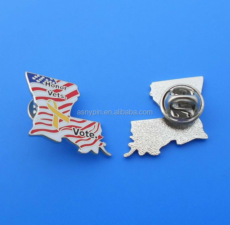 Qatar Flag Magnetic Badge For National Day Gifts