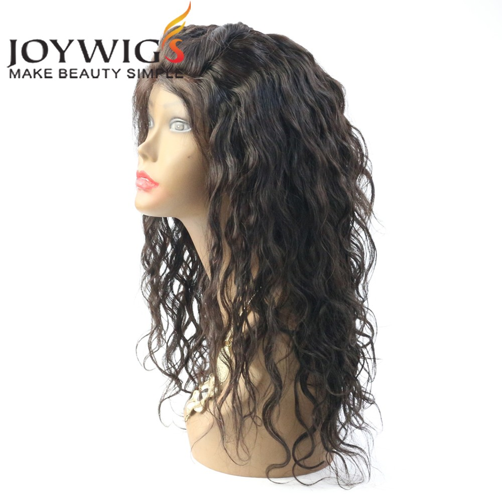 No tangle no shedding wholesale grade 8a peruvian hair straight natural hairline full lace wig with baby hair