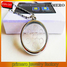 High Ions 5000CC Energy Bio Pendant Quantum Scalar Charms Stainless Steel Chain necklace