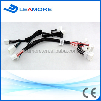 Car Wire Harness Cable Assembly Automotive Window Closing / Mirror ...