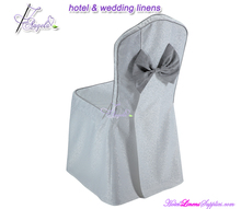 new design classical damask butterfly chair cover for banquet chairs in wedding events