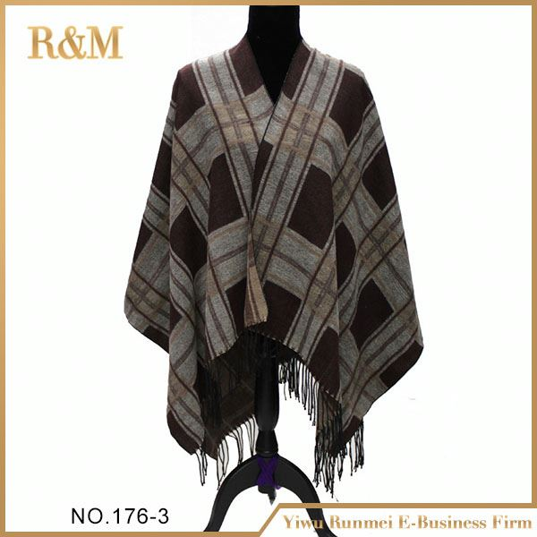 Newest factory sale fine quality leopard pashmina made in china