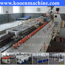 wood plastic composite decking machine for production window and doors/ ceiling panel