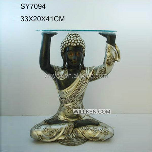 main d coration d 39 int rieur table basse avec bouddha. Black Bedroom Furniture Sets. Home Design Ideas