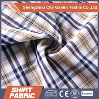 TC yarn dyed cotton shirting fabric Wholesale