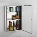 Wholesale Stainless Steel Storage Mirror Cabinet 7044
