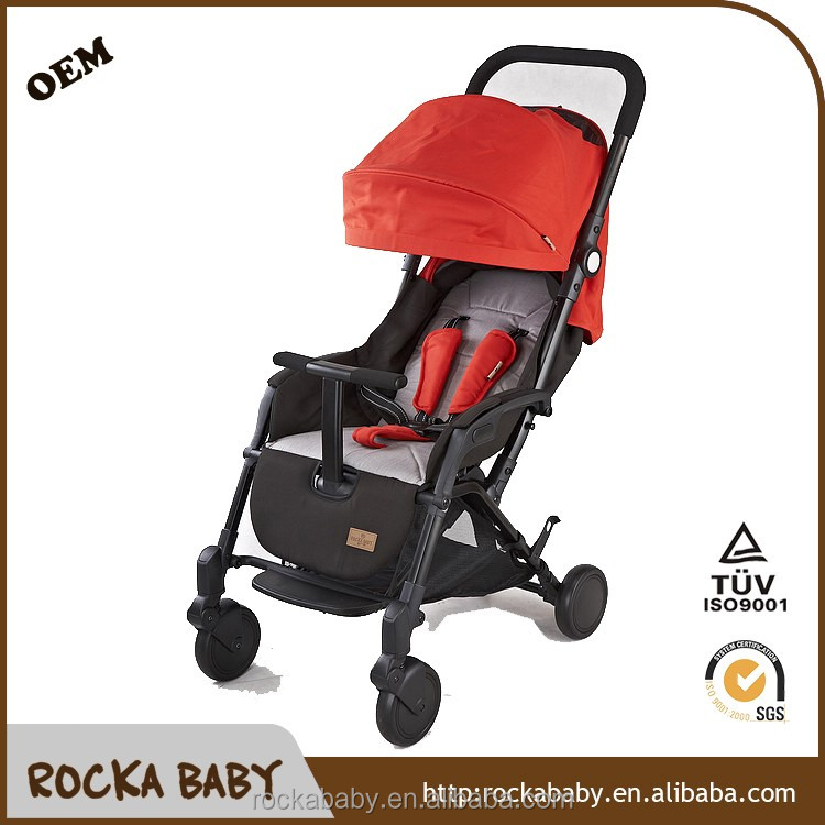 New design OEM Aluminium Tube Easily Foldable Mini Baby Pram Stroller