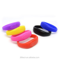 USB Promotional Gift, Silicon USB Bracelet, wrist band usb flash drive