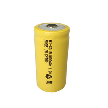 CEBA Rechargeable batteries sc ni-cd battery 1.2V 1800mah