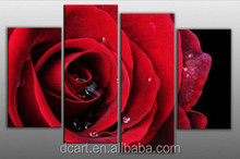 Romantic Rose Group Wall Picture Newest Art