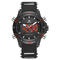 Hot New Products For 2018 High Quality Fashion Silicone Mans Cool Trade Assurance Orders Acceptable Multifunction Watches
