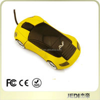 Best Selling USB High Speed Wired Optical 3D Car Shaped Mouse for Computer Laptop Notebook PC