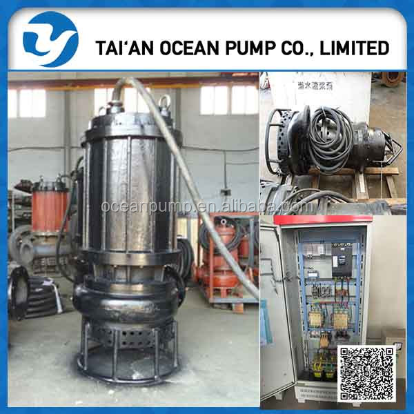 Motor integrated Submersible slurry pump for sale