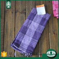 knitted cotton tea towel strong absorbent jacquard tea towel