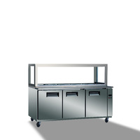New style refrigerated salad bar undercounter mobile refrigeration equipment
