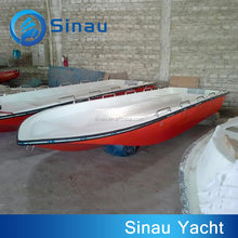 cheap 5.25m fiberglass speed military rescuing boat hulls for sale, frp military boat for sale