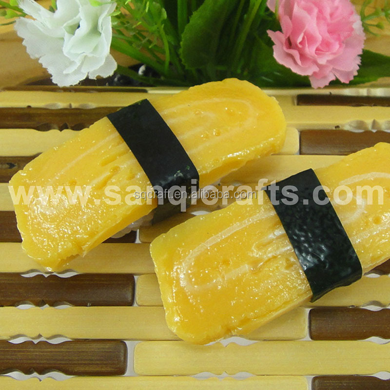 Hot Sale House Decorative Super Realistic Deluxe Egg - Tamago Sushi Fridge Magnet
