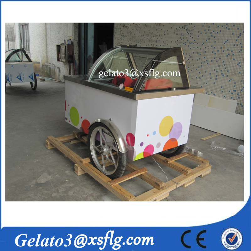 push cart/gelato catering/Ice-Cream & Cool Vending Bicycle