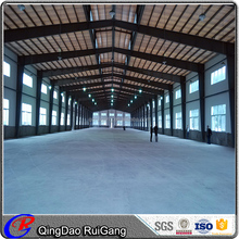 Large span steel structural low cost prefabricated metal workshop warehouse