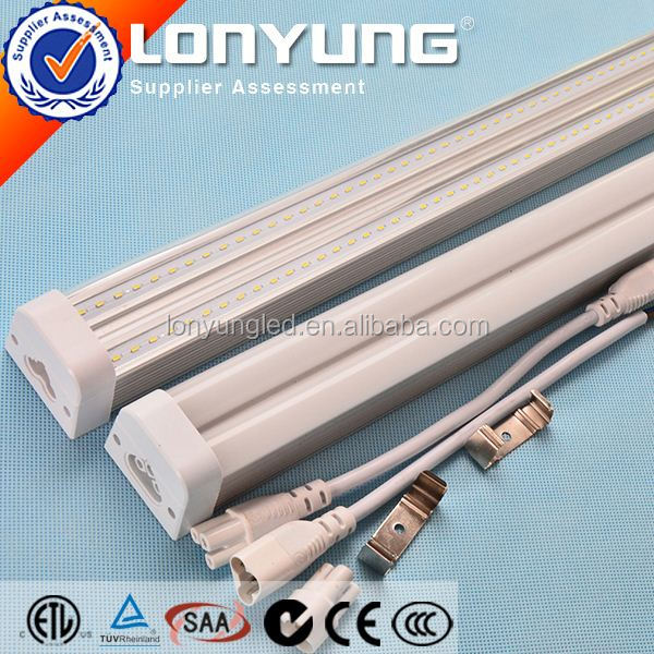 1-8ft 8-60w 65w spiral t5 energy saving lamp T5 LED Linear Double Tube ETL DLC TUV SAA