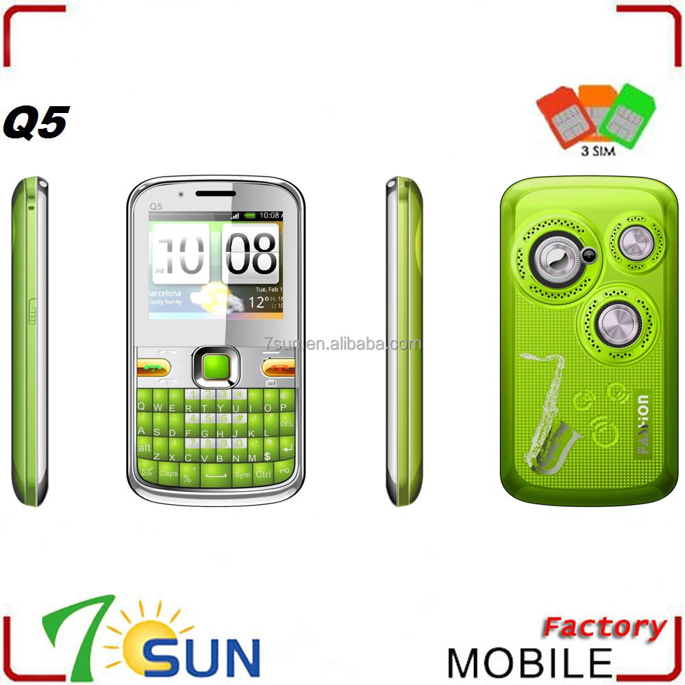 Q5 3sim mobile phones