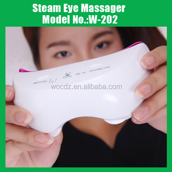 World Hot Steam Eye Massager, Steaming Away Your Wrinkles