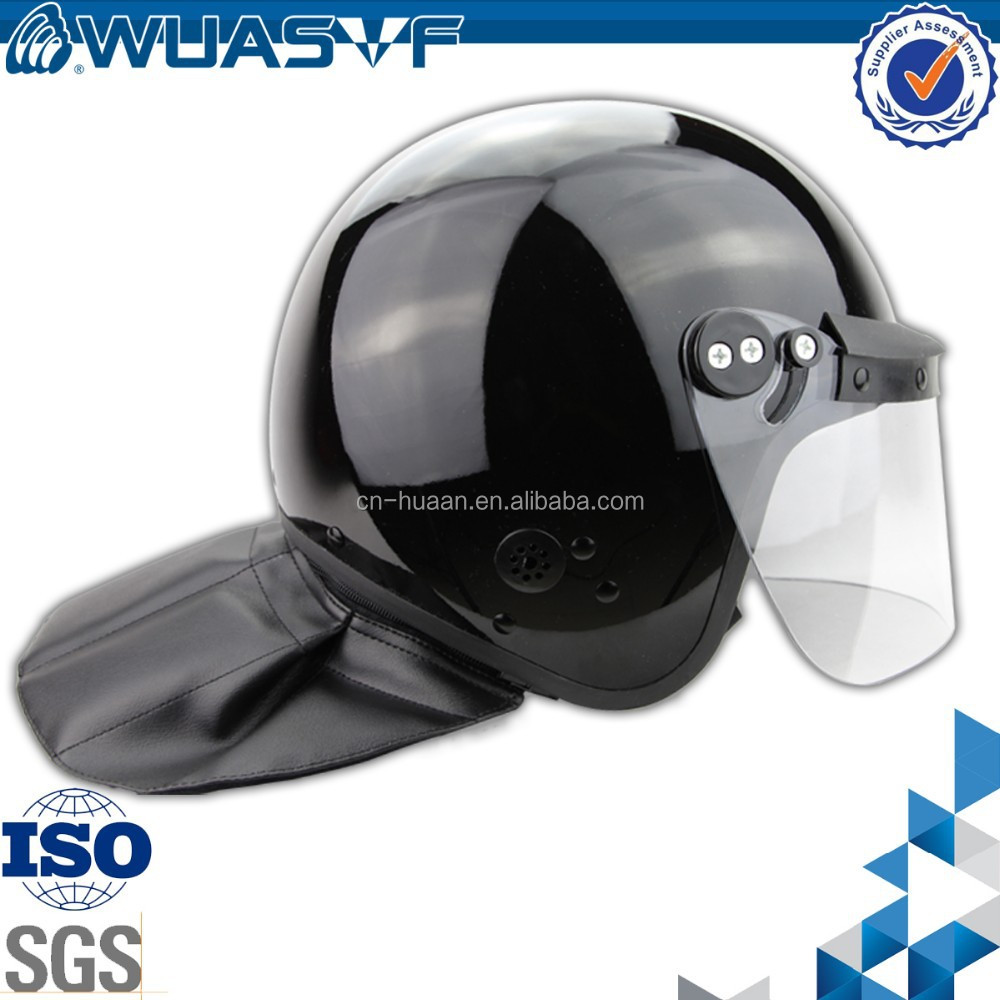 anti riot helmet with 3.5mm anti-fog visor