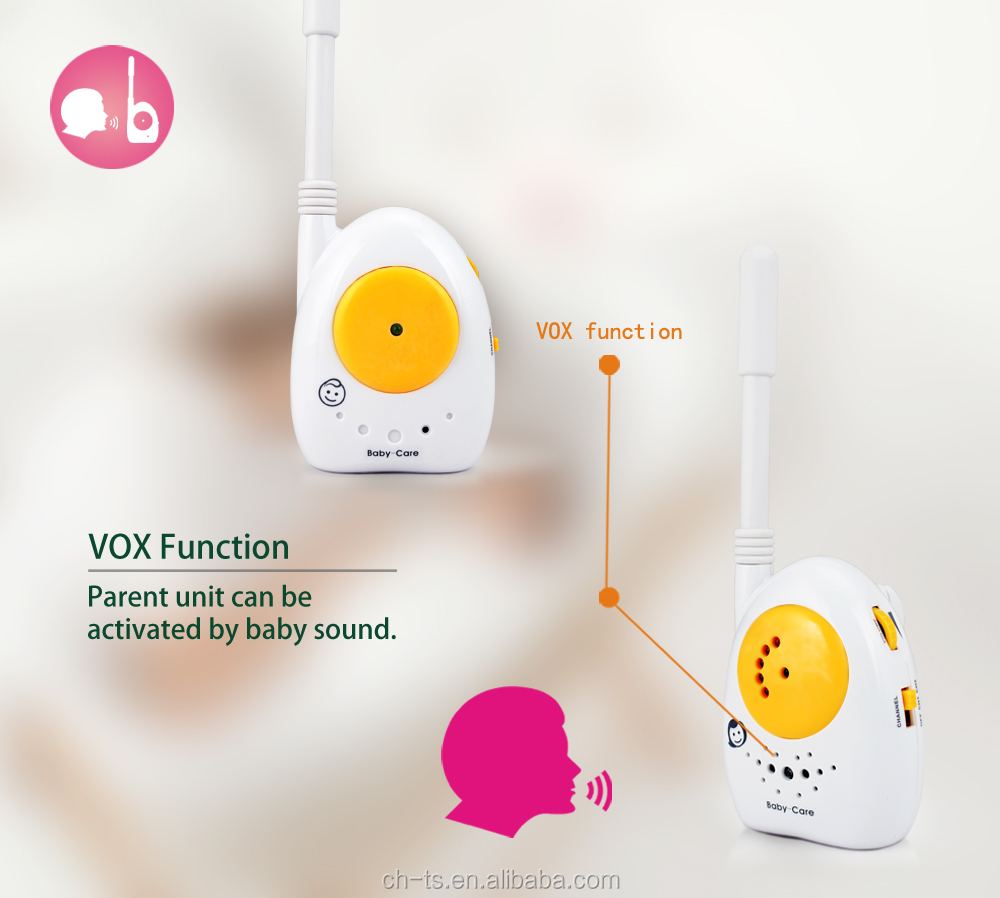 wholesale wireless electronic nanny dual band antenna baby monitor toy baby phone monitor