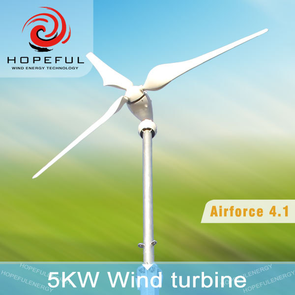 5000 w wind turbine funding