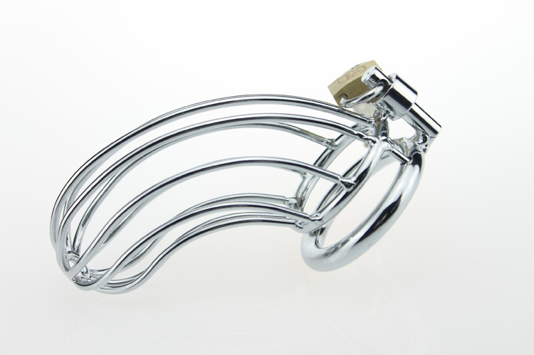 male chastity device cage for men penis stainless steel cock cage penis lock