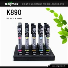 China wholesale 280 puffs Kingtons smooth e hookah disposable