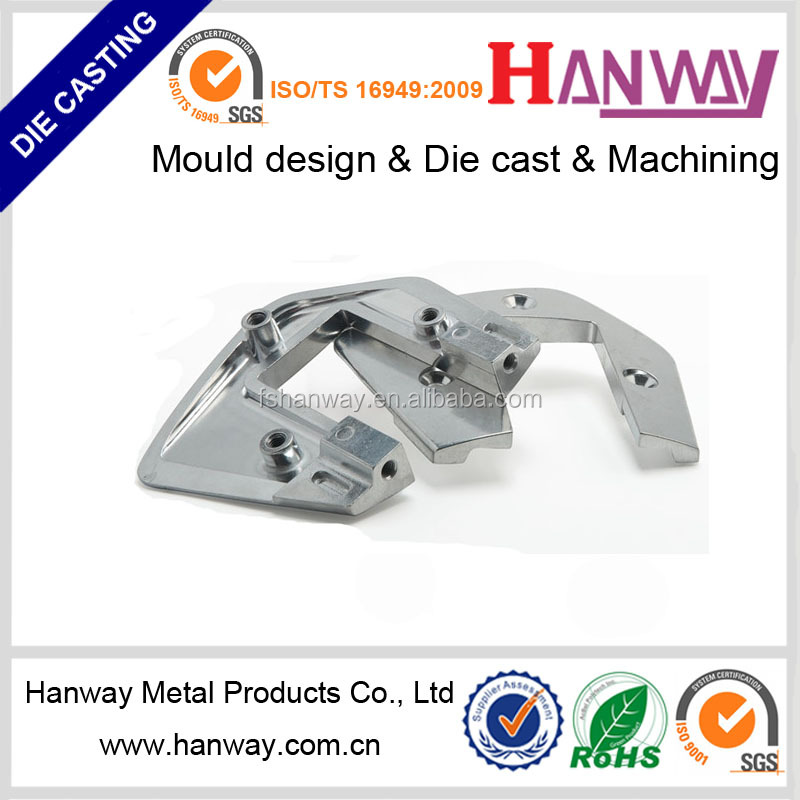 China Foshan die casting manufacturer OEM service Chrome metal 5-star die casting swivel chair base