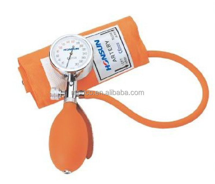 MK-201A1 High quailty Blood Pressure Monitor Medical Best Professional Aneroid Sphygmomanometer WIth Stethoscope